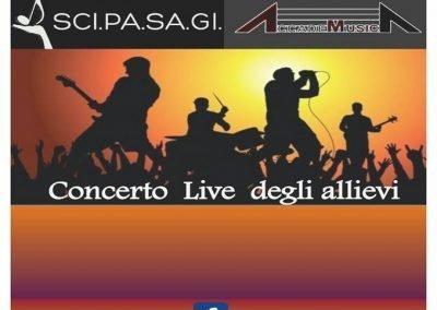 Concerto live degli allievi a stazione birra 17 giugno