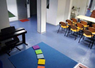 aula scuola di musica per bambini