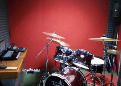 sala per batteria scuola di musica