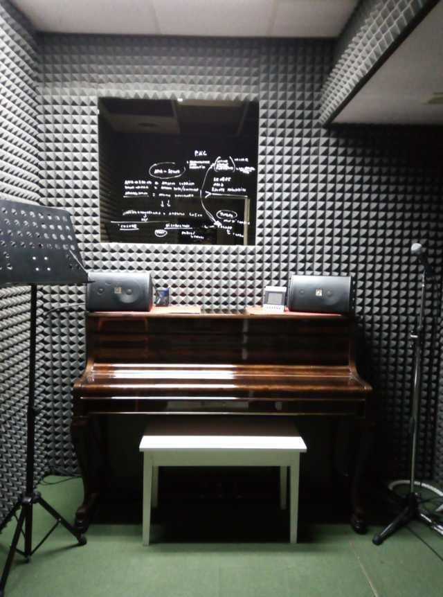 sala prove pianoforte e canto