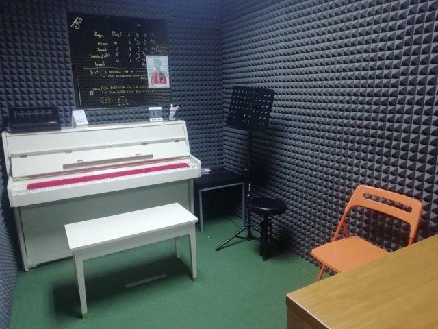 sala prove pianoforte