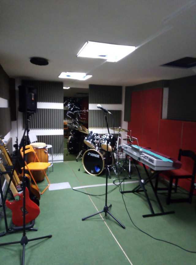 sala prove gruppi musicali